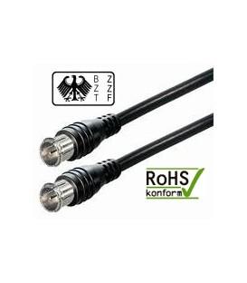 Sat Anschluss Kabel 80dB mit Quick F-Stecker 1,5m