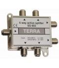1/6 Active Splitter, 950-2400 MHz