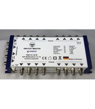 Switch Master 1 Sat - 16 Teilnehmer Multischalter 9/6 HDTV Made in Germany
