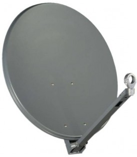 Gibertini satellite antenna OP85XP, Profi-Serie, 85cm, color red