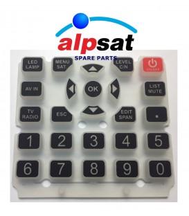 ALPSAT Satfinder Ersatzteil 5HD PRO/AS06-STC  Keypad