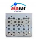 ALPSAT Satfinder Ersatzteil 5HD PRO Elektronik Tastatur