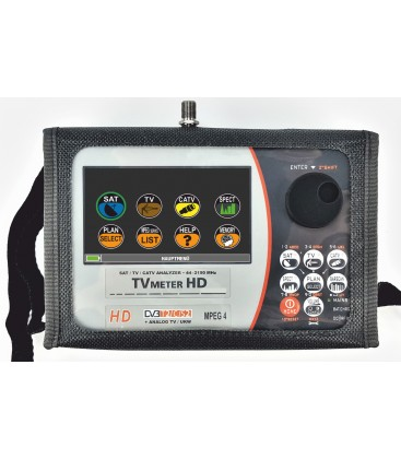 Prime Digital, TVmeter HD Touch DOLBY T2S2C, Combined HD Analyzer, mit Digital HD Bild