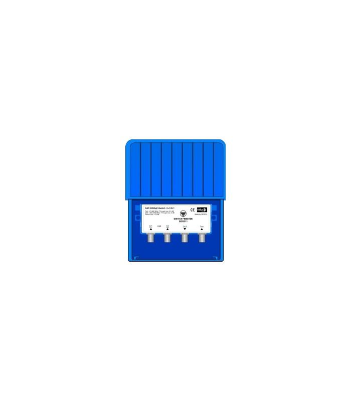 Switch Master High Class 2-wege DISEqC 2.0 Switch mit DVB-T Eingang ...