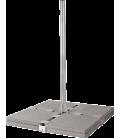 8 Platten Balkon Ständer XL, feuerverzinkt, 1.2m/1.8m länge