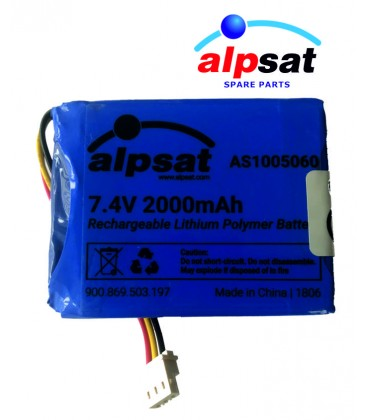 ALPSAT Satfinder Spare Part 03-BT Akku