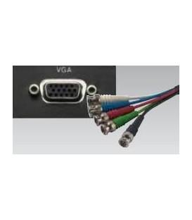 VGA 15-polig HDD Buchse auf 5 x BNC RGB HV Plug