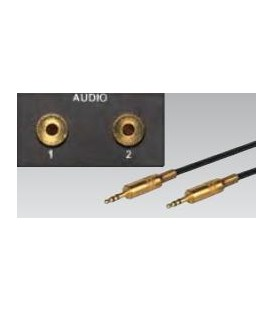 Eingänge 1 / 2 für Stereo 3,5 mm Klinke