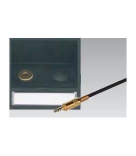 Eingang 1 für Stereo 3,5 mm Klinke Schrägauslass