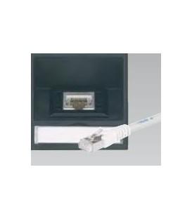Datenplatte mit einer Telefon-/Datenbuchse Schrägauslass