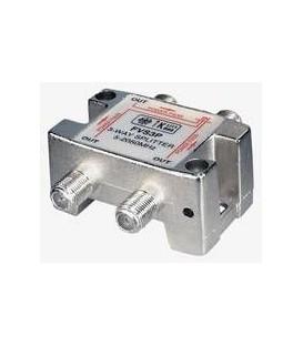 3-Fach Verteiler 5-2500MHz Digitaltauglich DC an allen Anschlüssen
