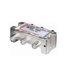 4-way Tap 10dB F-jack DC-pass at one port