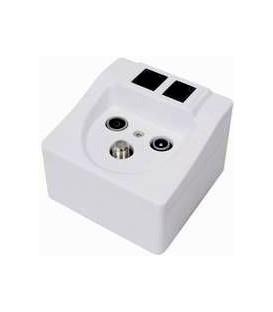 Multimedia Socket Sat-TV-Radio-LAN-Phone